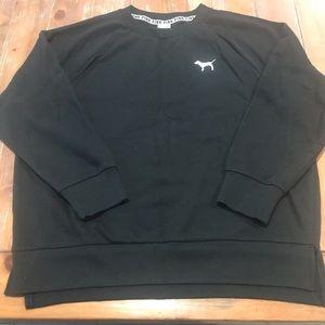 VS PINK Leggings Crew Sweatshirt